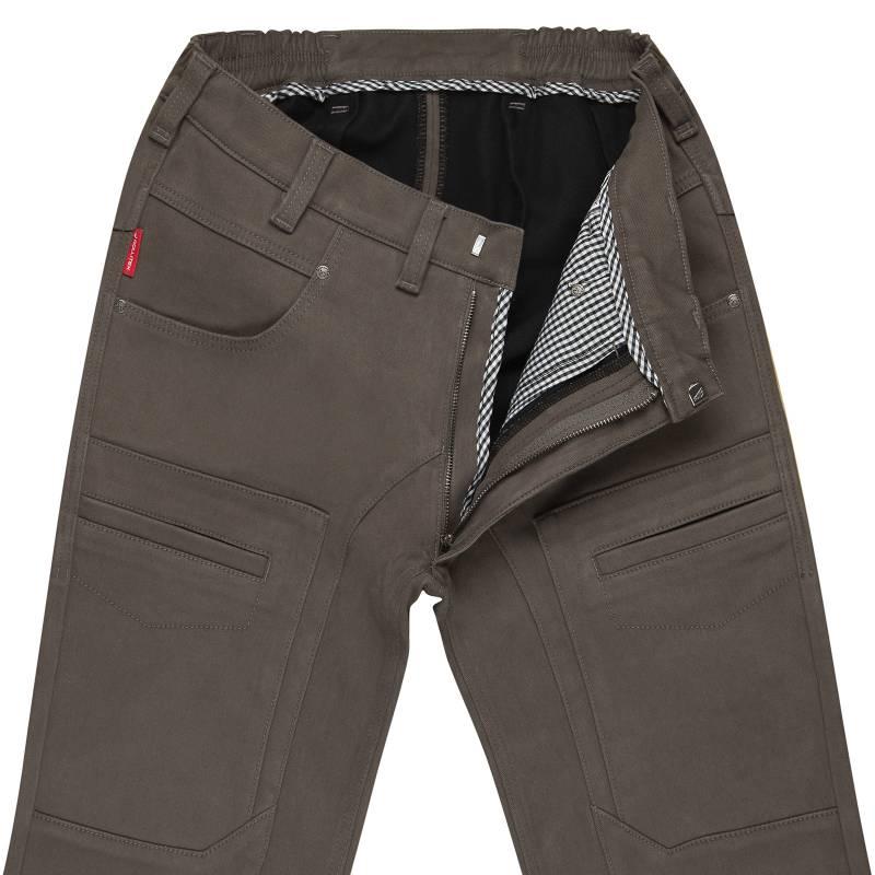 Thermal Khaki Strech Jeans Slim Fit 12