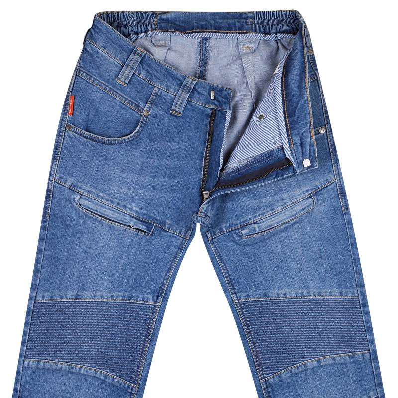Regular-fit jeans with stretch denim