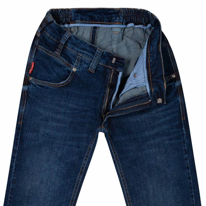 Regular-fit jeans from stretch denim 48
