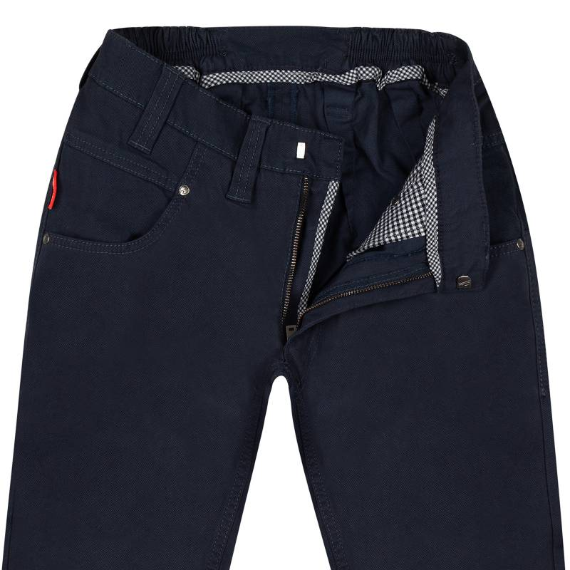 Slim-Fit Chino Jeans with Noble web look