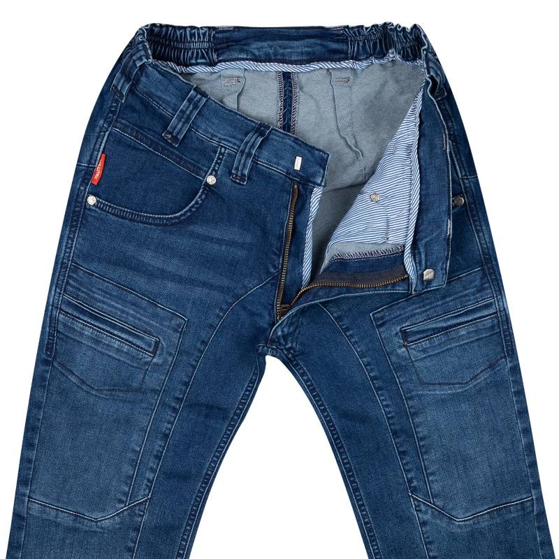 Slim-fit jeans from stretch denim 50