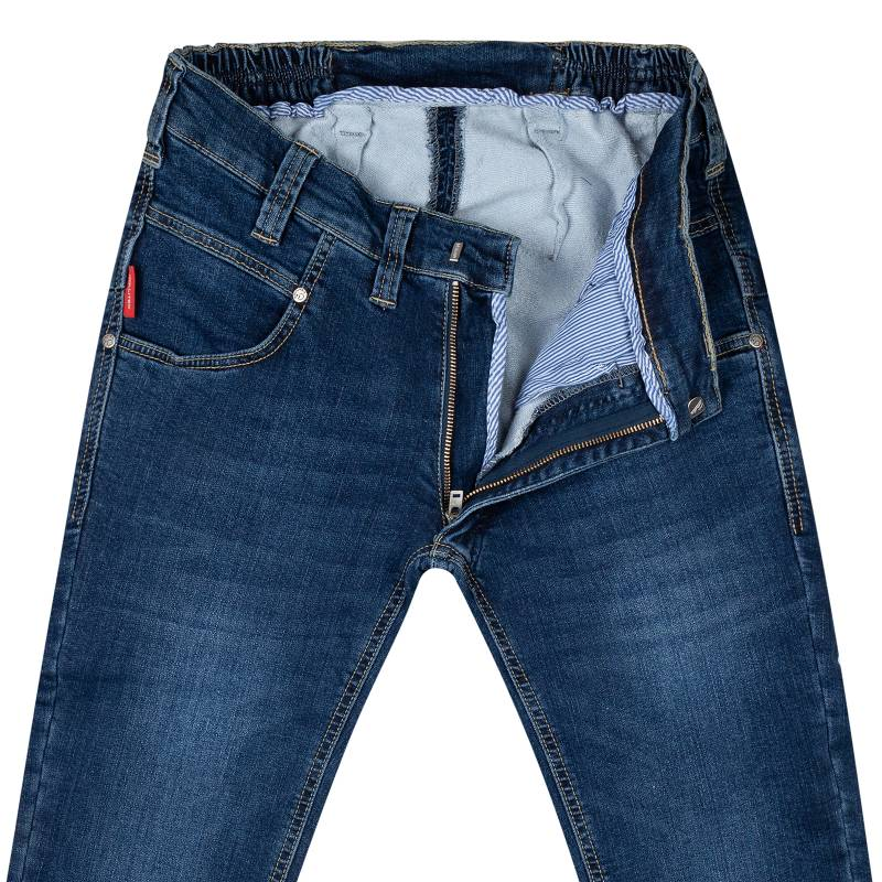 Thermo Regular-Fit Jeans with stretch denim
