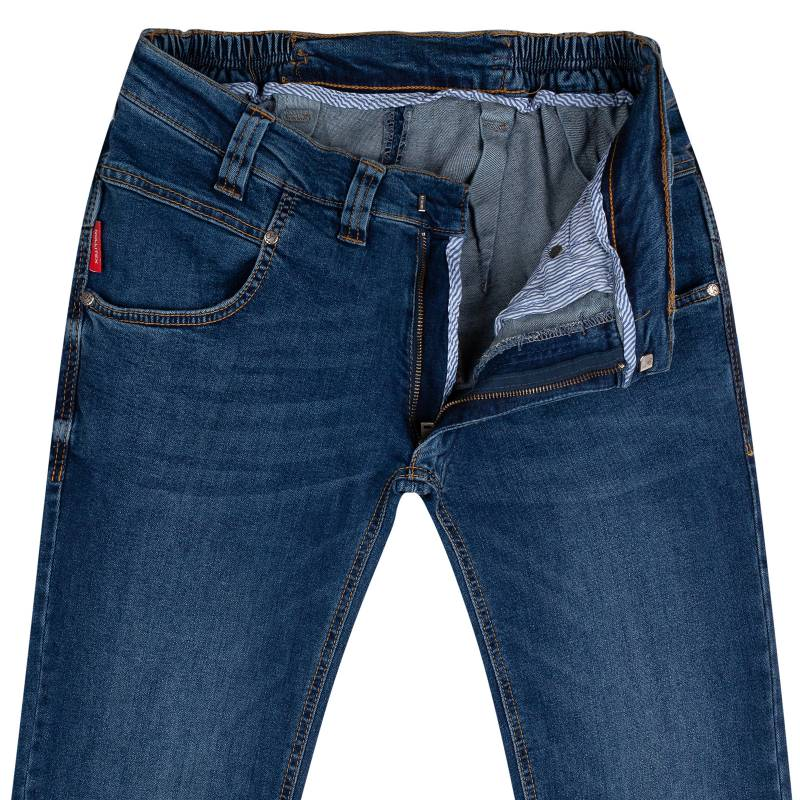 Regular-fit jeans from stretch denim 50