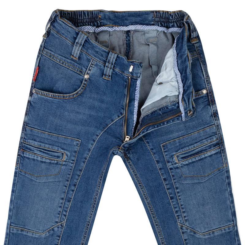 Slim-fit jeans from stretch denim