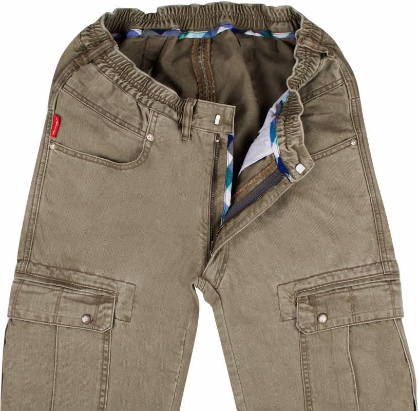 Khaki Cargo Pants E-12 M