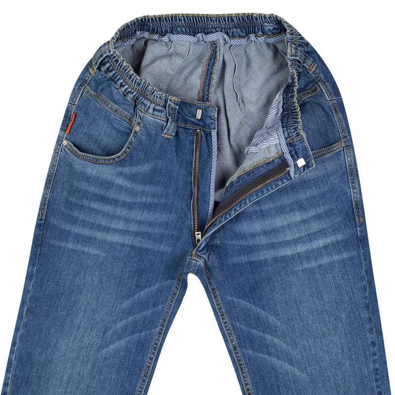 Elastic-waisted Stretch-Jeans N-12 XXL