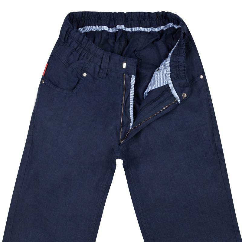 Regular Fit Schlupfjeans With Leinen S