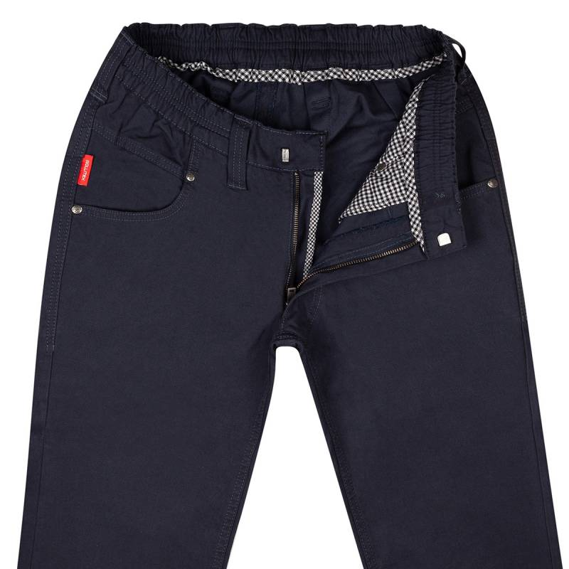Schlupf-Chino Blue - Regular Fit