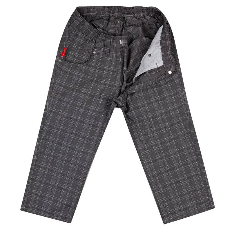 Short in checkered look