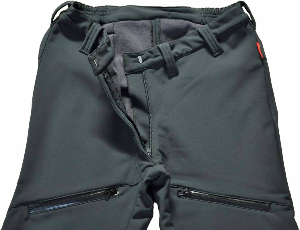 Women's Fleece-Lined Outdoor Trousers N-10
