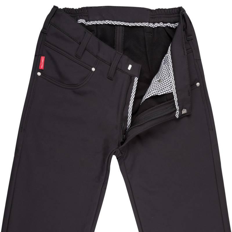 Black Outdoor Softshell Slim Fit 8