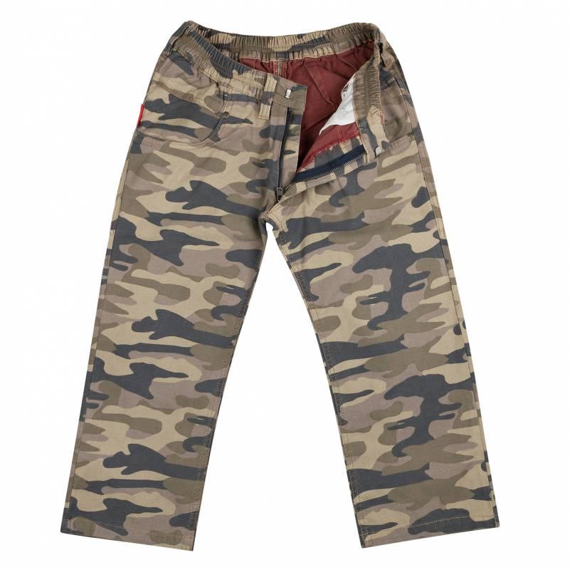 Camouflage Bermuda Slim Fit