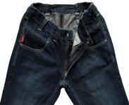 Dark Raw Blue Jeans E-12