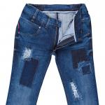 Destroyed Blue Jeans E-8 48